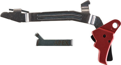 APEX ACTION ENHANCEMENT KIT FOR GLOCK G17/G19 GEN 5 RED - for sale