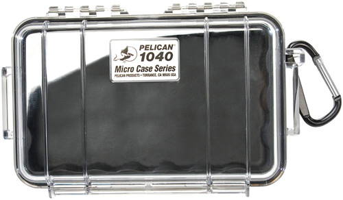 PELICAN 1040 MICRO CASE WL/WI-BK CLR - for sale