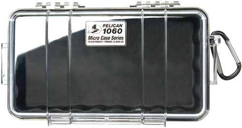 PELICAN 1060 MICRO CASE WL/WI-BK CLR - for sale