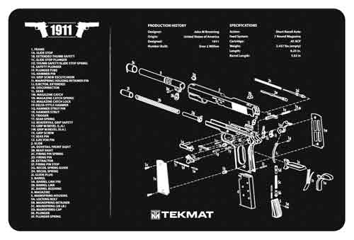 tekmat - Original Cleaning Mat - TEKMAT 1911 - 11X17IN for sale