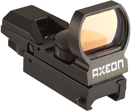 AXEON REFLEX SIGHT W/4 RED CHANGABLE RETICLES - for sale