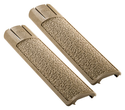 ERGO GRIP RAIL COVER FULL LONG TEXTURED PICATINNY FDE 2PK - for sale