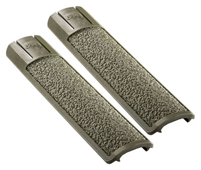 ERGO GRIP RAIL COVER FULL LONG TEXTURED PICATINNY OD GRN 2PK - for sale