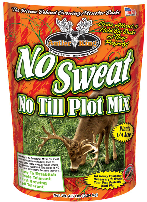ANTLER KING NO-SWEAT NO-TILL 1/4 ACRE 4.5LB SPRING/FALL - for sale