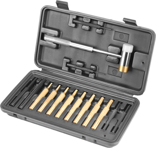 wheeler - Hammer and Punch Set - HAMMER AND PUNCH SET PLASTIC CASE for sale