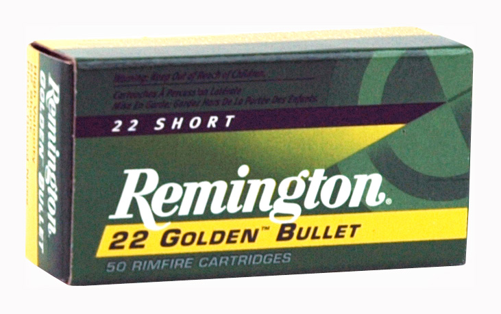 REM AMMO .22 SHORT 50-PACK HIGH VELOCITY 29GR. PLATED LRN - for sale