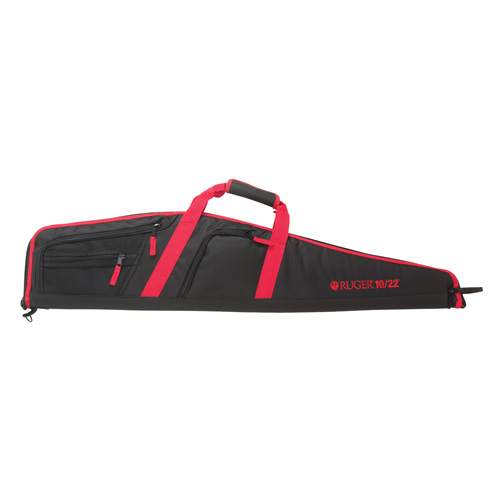 "allen company - Flagstaff 10/22 Rifle Case - RUGER 10/22 SCOPED RIFLE CASE 40"" BLK/RD for sale"