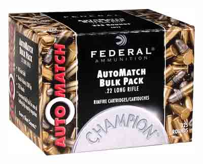 FED AMMO AUTOMATCH .22LR 40GR RN 10-325RD PKS CASE LOTS ONLY - for sale