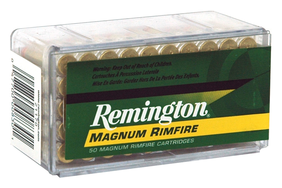 REM AMMO .22WMR 40GR. JSP 50-PACK - for sale