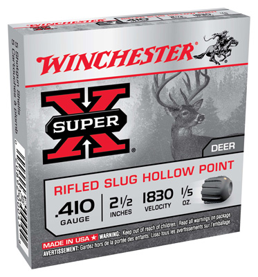 WIN SUPER-X 410GA 2.5 SLUG .5OZ 5/50 - for sale