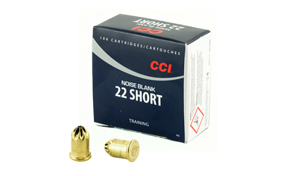 CCI AMMO 22 SHORT BLANK 100PK 5000/CASE   (50) - for sale