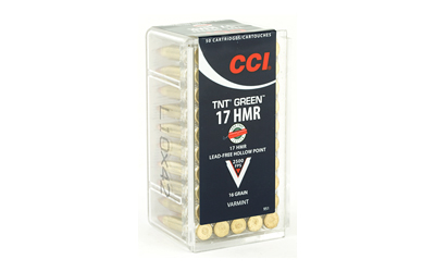 CCI 17HMR 16GR TNT GREEN 50/2000 - for sale