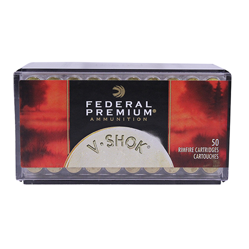 Federal - Premium - .17 HMR - V-SHOK 17 HMR 17GR V-MAX 50RD/BX for sale