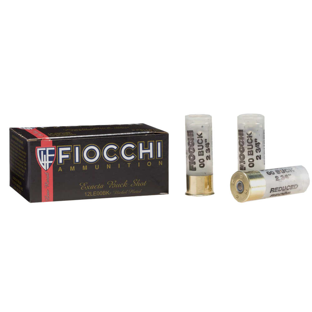 FIO 12GA 2.75 00 BUCK LOW RECOIL 10/25 - for sale