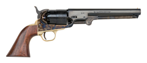"TRADITIONS 1851 NAVY .44 CAL. REVOLVER 7.5"" CC/STEEL FRAME - for sale"