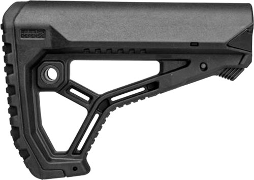F.A.B. DEFENSE BUTTSTOCK AR-15 /M4 BLACK MIL-SPEC/COMMERCIAL - for sale