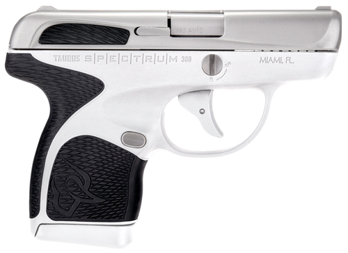 "TAURUS SPECTRUM .380ACP 2.8"" FS 7-SHOT SS/WHITE POLY BLACK - for sale"