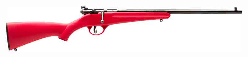 SAVAGE RASCAL YOUTH SINGLESHOT .22LR ACCU TRIGGER BLUED/RED - for sale
