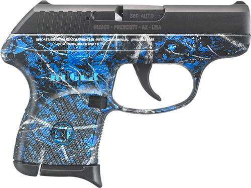 RUGER LCP .380ACP 6-SHOT FS BL SLD MOONSHINE CAMO UNDERTOW - for sale