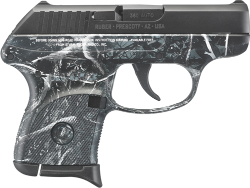 RUGER LCP .380ACP 6-SHOT FS BL SLD HARVEST MOON CAMO - for sale