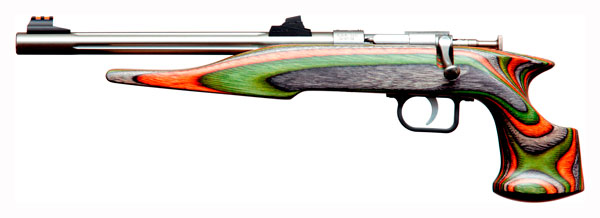 CHIPMUNK PISTOL HUNTER .22WMR STAINLESS/CAMO LAMINATE - for sale