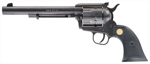 CHIAPPA 1873 SAA 22-10 22LR 7.5 AS BLK 10RD - for sale