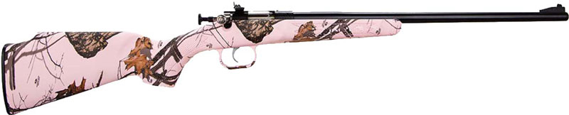 CRICKETT RIFLE G2 .22LR BLUED/MOSSY OAK PINK BLAZE - for sale