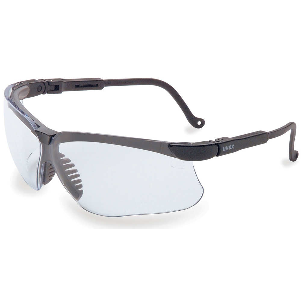 howard leight - Genesis - GENESIS BLK FRM/CLEAR LENS GLASSES for sale