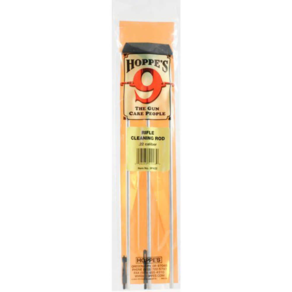 hoppe's - Cleaning Rod - 3PC 22 CAL ALUM RFL ROD for sale