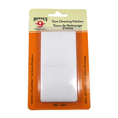 hoppe's - Gun Cleaning - GUN CLNG PTCH NO 4 38/45/410/20GA 40PK for sale