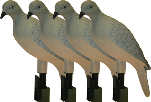 MOJO CLIP ON DOVE DECOY SET OF 4 - for sale