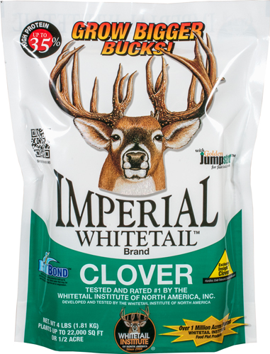 WHITETAIL INSTITUTE IMPERIAL CLOVER 1/2 ACRE 4LB SPRNG/FALL - for sale