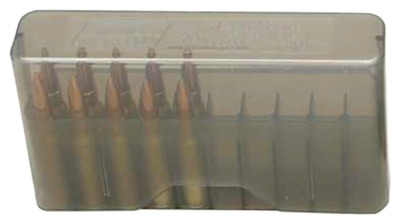 mtm case-gard - J-20 - SLIPTOP MED RIFLE CTG BOX 20RD - CLR SMK for sale