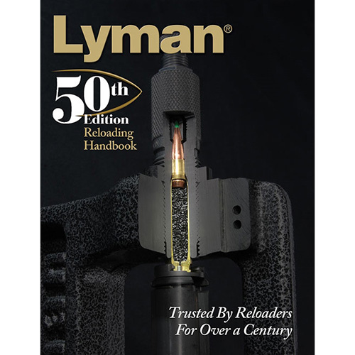 Lyman - Reloading Handbook - 50TH ED RELOADING HANDBOOK SOFTCOVER for sale