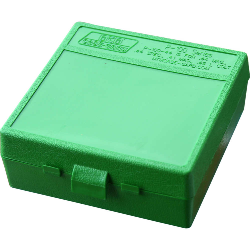 mtm case-gard - Case-Gard - P100 XLG HNDGN AMMO BOX 100RD - GREEN for sale