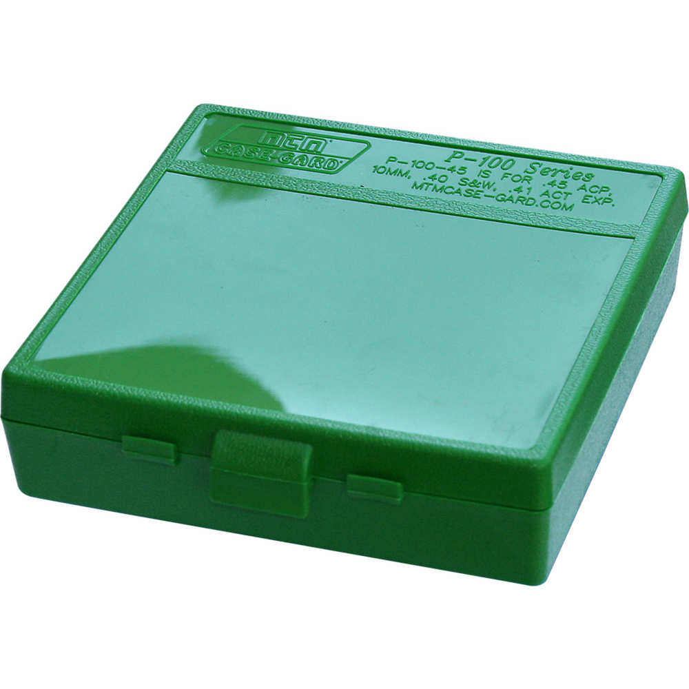 mtm case-gard - Case-Gard - P100 LGE HNDGN AMMO BOX 100RD - GREEN for sale