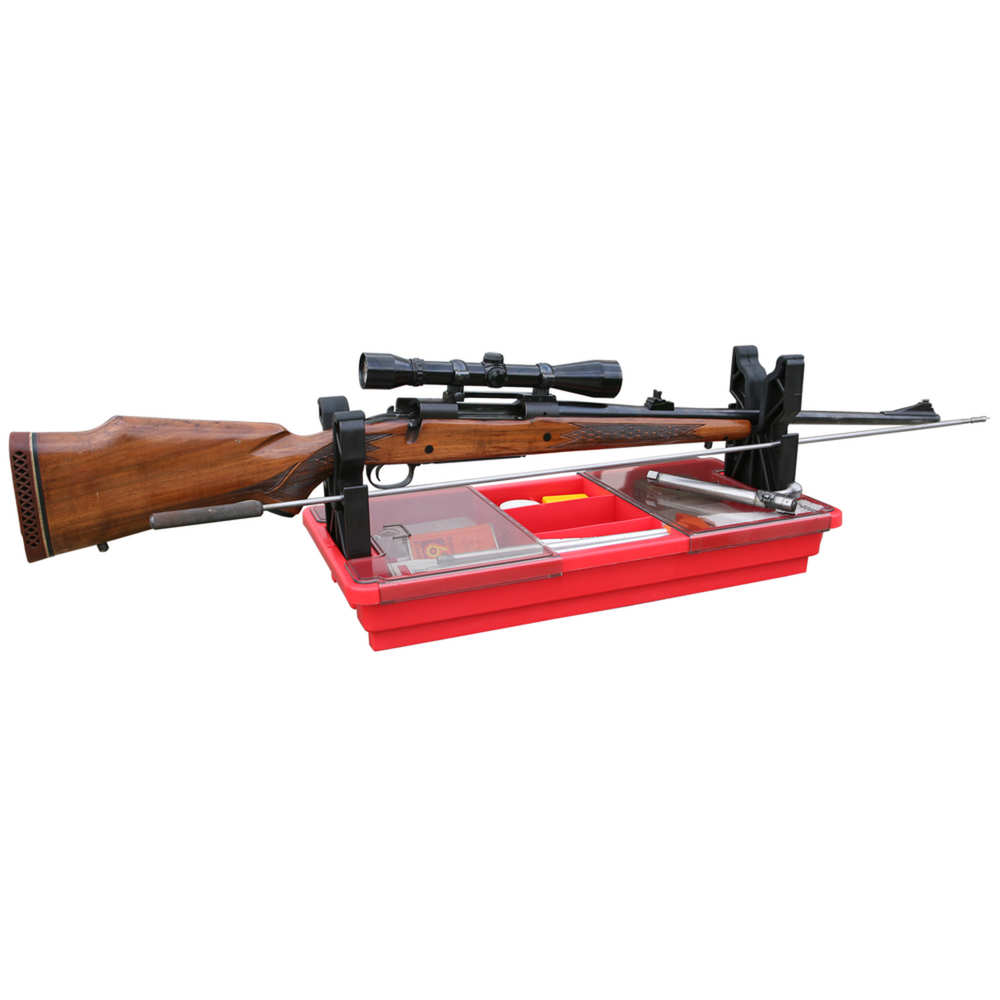 mtm case-gard - Portable Maintenance Center - PORTABLE RIFLE/SHTGN MAINT CENTER - RED for sale
