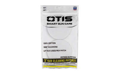 otis technologies - All Caliber - ALL CAL CLEANING PATCHES 100PK for sale