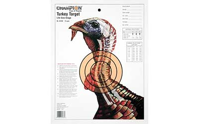 champion - Life Size - PRACTICE LIFESIZE TURKEY TARGET 12PK for sale
