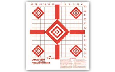 champion - Redfield - REDFIELD PREC SIGHT-IN TARGET 10PK for sale