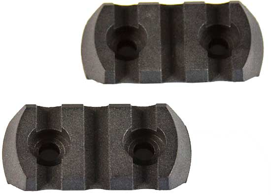 "JE M-LOK POLYMER RAIL SECTION 1.5"" 3 SLOT 2 PER PKG - for sale"