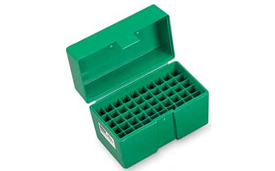 RCBS AMMO BOX LARGE PISTOL GREEN - for sale
