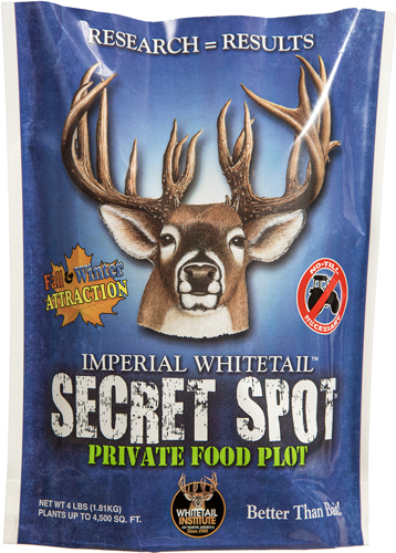 WHITETAIL INSTITUTE SECRET SPOT 4,500 SQ FEET 4LBS FALL - for sale