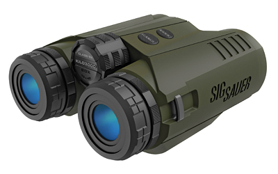SIG OPTICS LASER RANGE FINDING BINOCULAR KILO3000BDX 10X42 OD - for sale