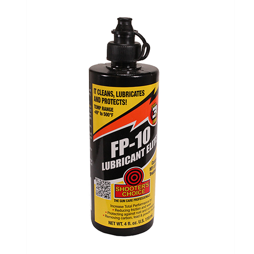 shooter's choice - FP-10 - FP-10 LUBRICANT ELITE 4OZ SQZ BTL for sale