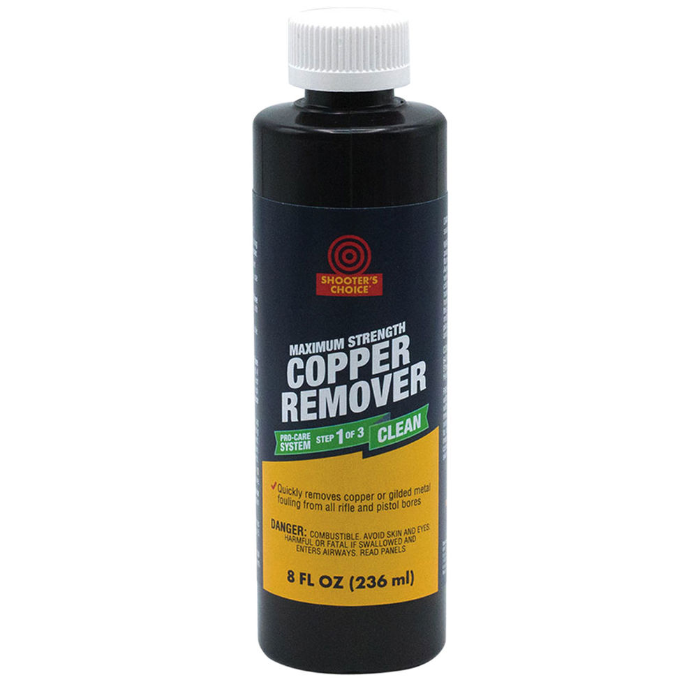 shooter's choice - Copper Remover - COPPER REMOVER 8OZ PLAS BTL for sale
