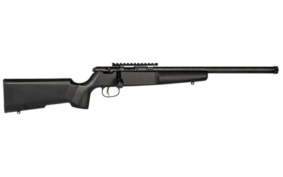 SAV RASCAL TARGET 22LR 16 HVY TB NS BLK STOCK - for sale