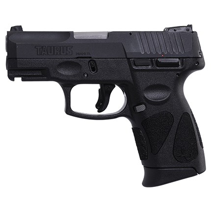 TAURUS G2C 9MM 12-SHOT 3-DOT ADJ. MATTE BLACK POLYMER - for sale