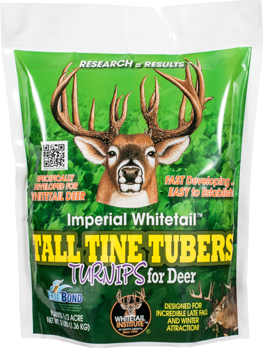 WHITETAIL INSTITUTE TALL TINE TUBERS 1/2 ACRE 3LBS FALL - for sale