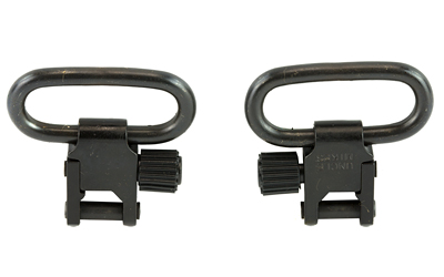 uncle mike's - Rifle Swivels - QD115 U22 BL 1IN SLING SWIVEL SET for sale